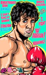 Rocky Balboa by Atsuko-09