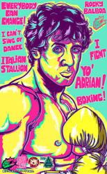 Rocky's Yellow Stallion by Atsuko-09