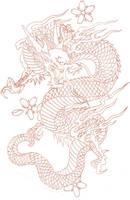 Cherry Dragon by TAT-2-U