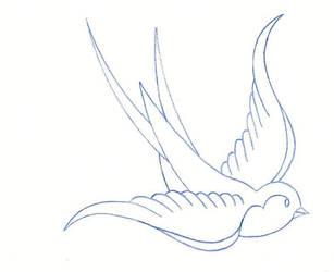Traditional Bird by TAT-2-U