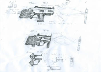 New Weapons Series by MG0815