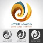 Javier Campos Logo by valhadar