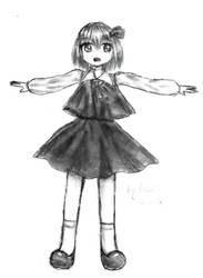 Touhou: Rumia by Fluffy-mouses