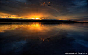 Lake Macquarie Sunset by jonathondeans