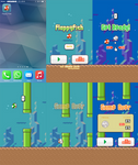 Preview Screens for Flappy Fish by NeoRame