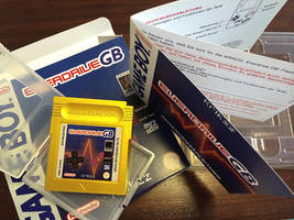 Box, Label and Booklet for Everdrive GB by NeoRame