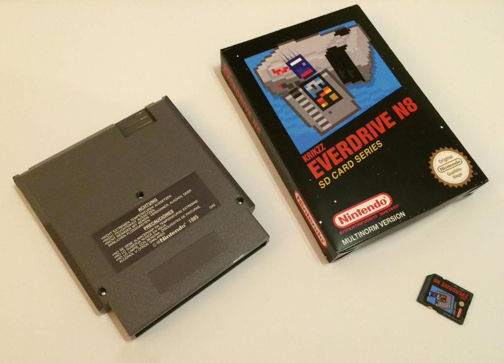 Everdrive N8 Custom Set by NeoRame