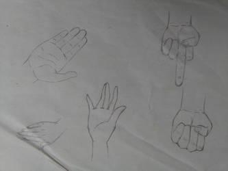 Hand paractice by Dreiks