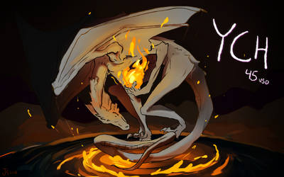 Dragon Fire - [OPEN YCH] by Juleteon