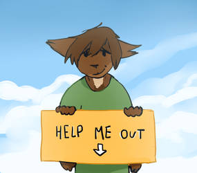 Help me out.. (No donations, please read!) by Juleteon