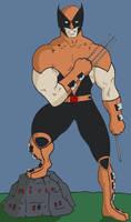 X-Men Evolution Wolverine by N-I-V-E-K