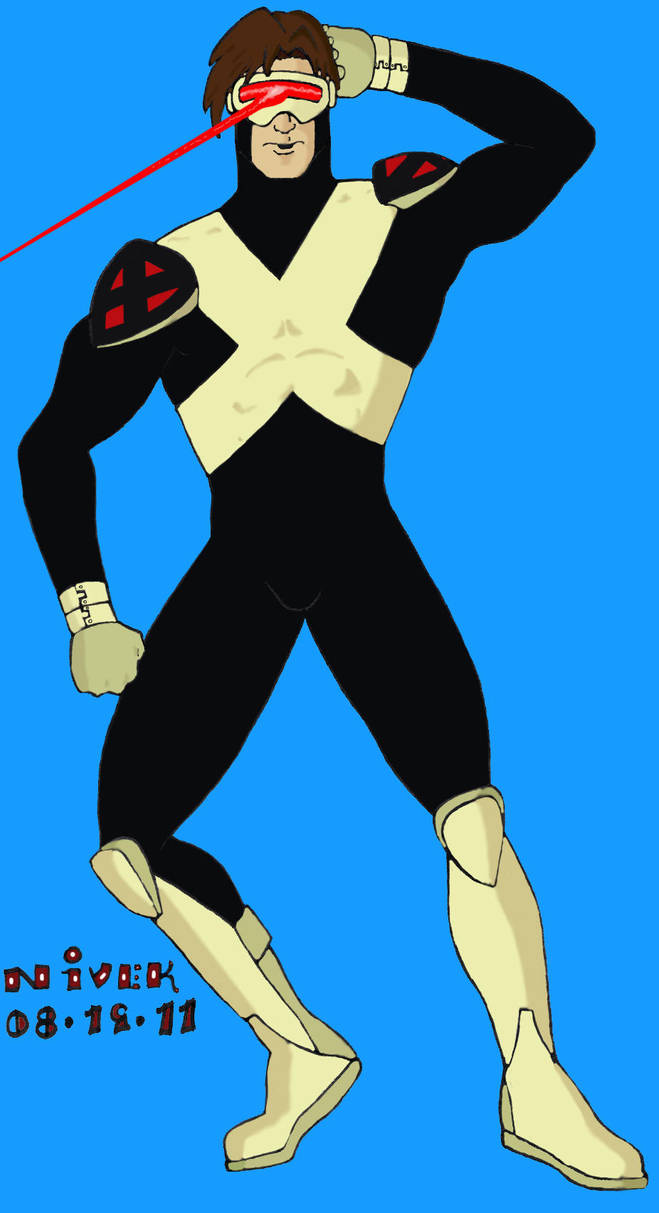 X-Men Evolution Cyclops by N-I-V-E-K