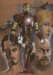 Iron Man by Kei-san