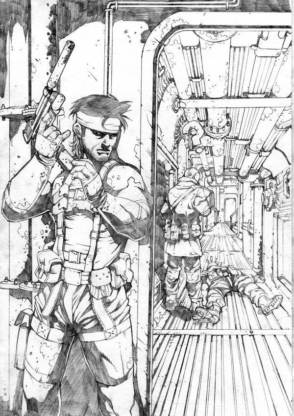 Metal Gear Solid by Kei-san