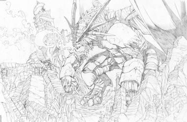 Angry Dragon by Kei-san