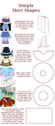 Skirt Shapes Tips by MirianRose