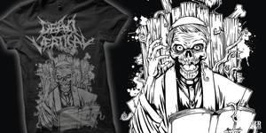 DEAD VERTICAL_PRIEST by bazzier