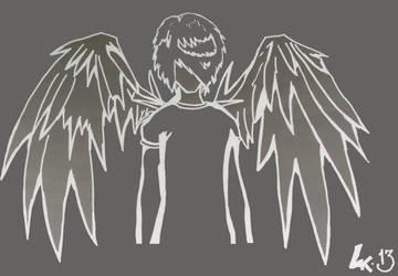 Nega-Angel by BasHallward