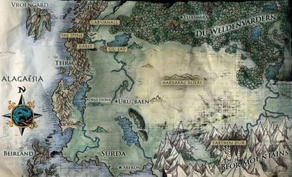 Eragon Map by thorn11166