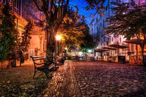 Skadarlija Belgrade by aleexdee