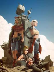 Fallout Girls by StMan