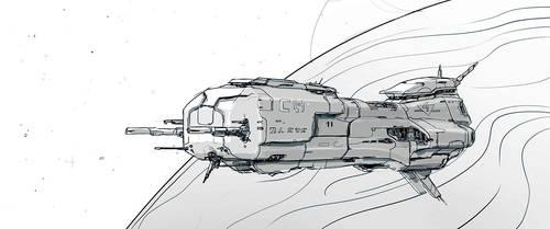 W20131215 - Spaceship by StMan