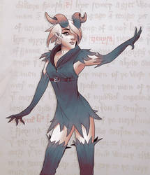 W20171112 - Demon Witch by StMan