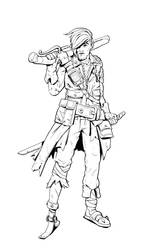 W20180624 - Post Apocalyptic Pirate by StMan