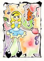 Alice In Wonderland by dum-donutz