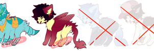 [2/4 OPEN] Tier Doggo Adopts by Ikataco