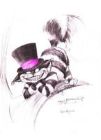 The Cheshire Cat by halfdemondog
