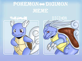 pokemon to digimon by Kei-Le