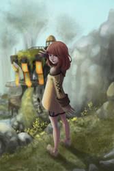FFXIV Adventurer by dawn-alexis