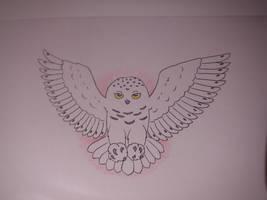 Hedwig Tattoo by Rannva
