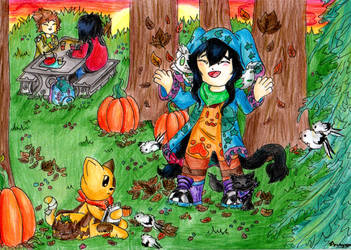 Autumn is here by AmethystDOOM