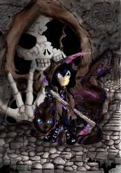In the shadows by AmethystDOOM