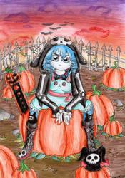 Pumpkin Patch by AmethystDOOM