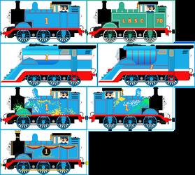 Thomas The Tank Engine V2 by Princess-Muffins