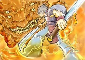 .: Epic Battle:. c0l0r.: by HACKERDNA