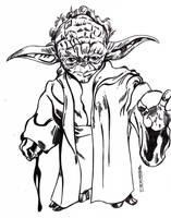 Yoda by jacksony22