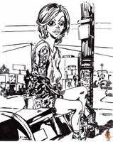 Alysha Nett Newest Artwork by jacksony22
