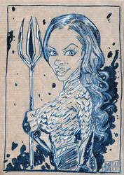 Queen of Atlantis by jacksony22