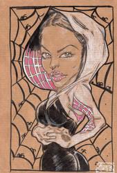 Spider Gwen by jacksony22