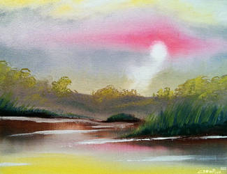 Bright Hazy Sun by Crowflux