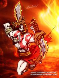 Kratos Unleashed by DoooM