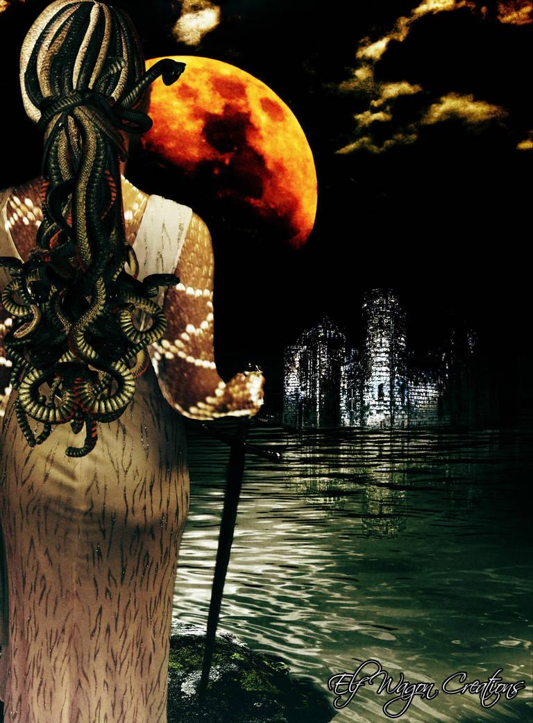 Medusa by elfwagoncreations