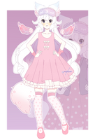 (AT) MysteriousSnowcat Fullbody by pastelaine-art