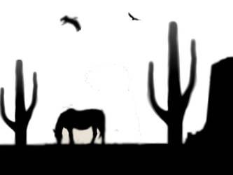 Desert by fearofthelight