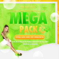 ++Mega Pack |+200 Watchers. by KarlaStylesLovato