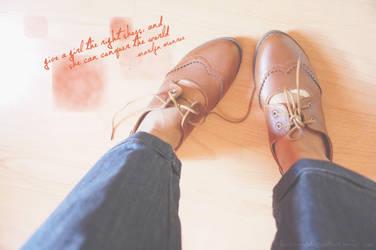 Shoe steps by sweetlacie